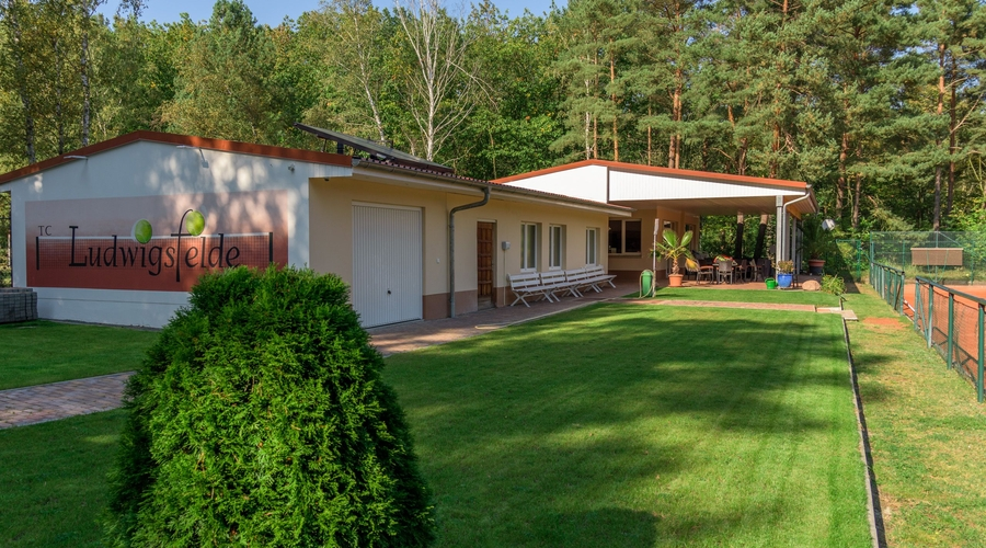 Eingangsbereich des TC Ludwigsfelde