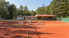 Ansicht des Clubhauses